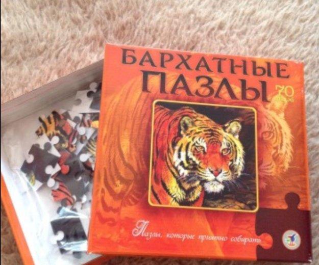 Пазлы тигр бархат. Фото 1. Тюмень.