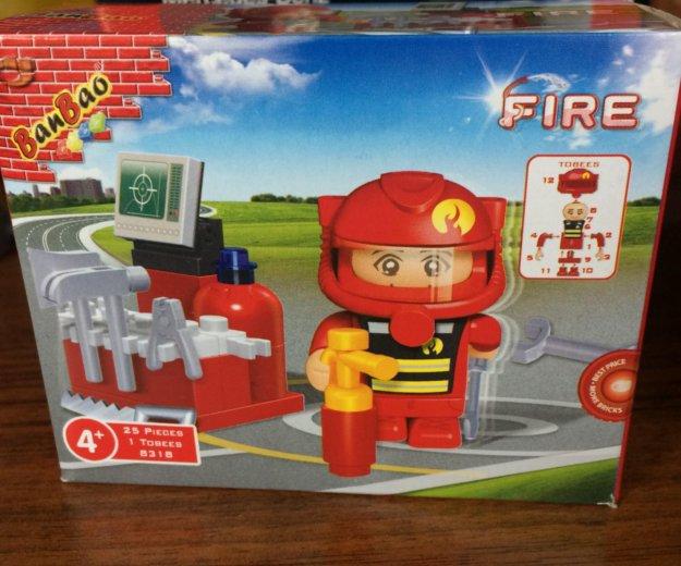 Конструктор пожарный 25 деталей. Фото 1. Барнаул.