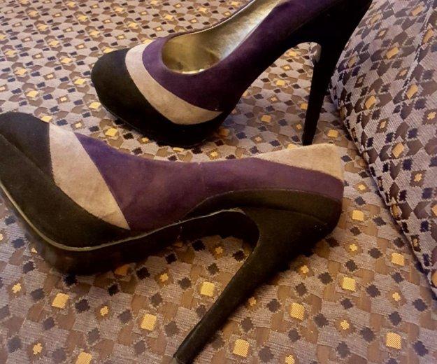 Туфли замша р. 37. Фото 2. Дубна.
