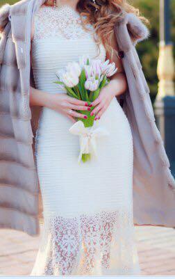 Дизайнерское свадебное/выпускное платье. Фото 2.