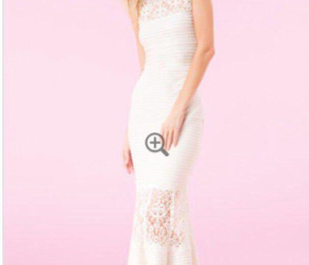 Дизайнерское свадебное/выпускное платье. Фото 1.
