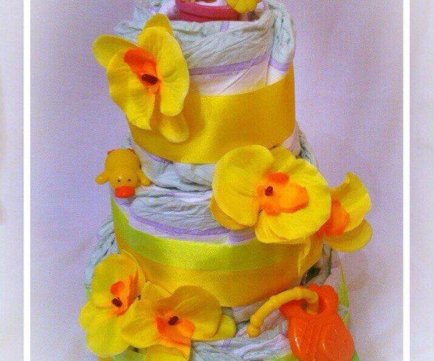 Торт из подгузников. Фото 3. Москва.