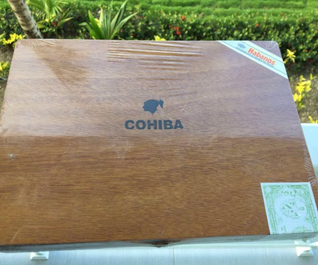 Коробка для сигар из кубы. Фото 1. Москва.