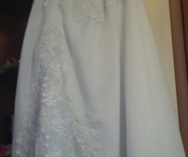 Платье свадебное с шубкой. Фото 1. Вологда.