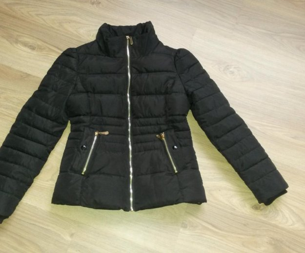 Новая утепленная куртка на рост 150-155. Фото 1. Зеленоград.