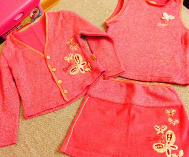 Тройка теплая новая,юбка,кофта и жакет. Фото 1. Красногорск.
