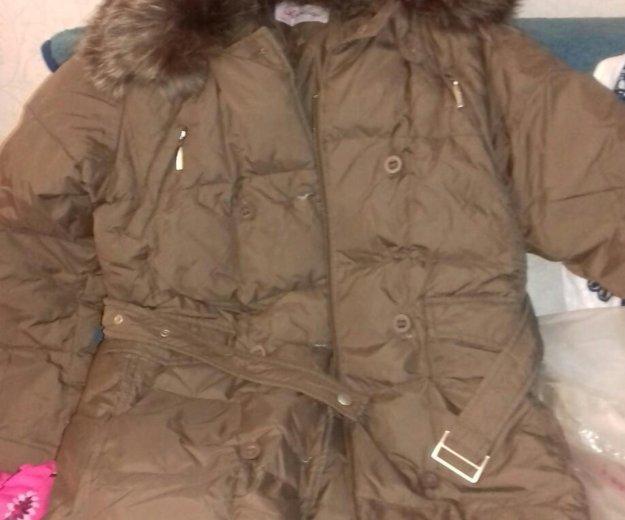 Пальто пуховое, пуховик. два одинаковых. Фото 1. Самара.
