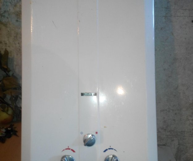 Газовый водонагреватель. Фото 2.