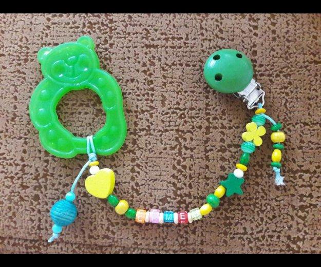 Именной прорезыватель для зубов (детский). Фото 2.