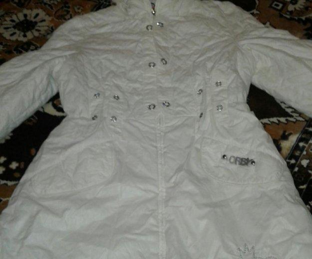 Пальто на худенькую девочку на синдепоне. Фото 1. Ногинск.