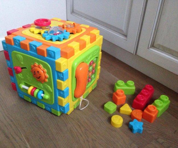 "Playgo развивающий центр ""разборный куб"" с 6 мес. Фото 1. Москва."