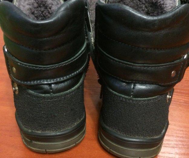 Зимние ботинки натуральная кожа,натуральный мех. Фото 3. Кострома.