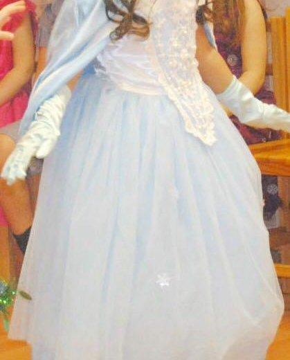 "Платье "" холодное сердце "". Фото 2. Санкт-Петербург."