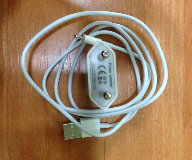 Зарядка + usb для iphone 5 / 5s /6. Фото 3.