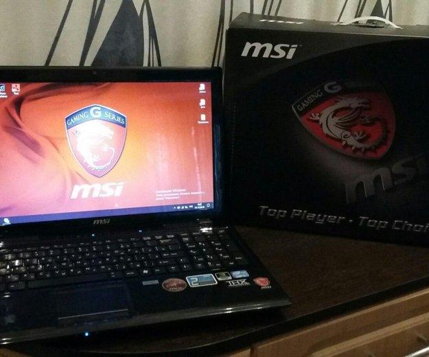 Игровой ноутбук msi steelseries. Фото 2. Балашов.