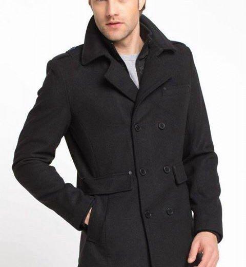 Тёплое мужское пальто. Фото 1. Ялта.
