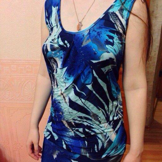Платье короткое с открытой спиной. Фото 1. Липецк.