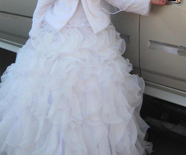 Пышное свадебное платье. Фото 1. Красноярск.
