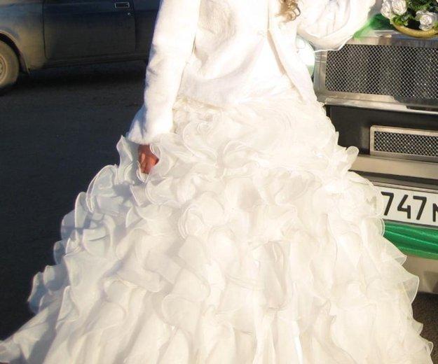 Пышное свадебное платье. Фото 4. Красноярск.