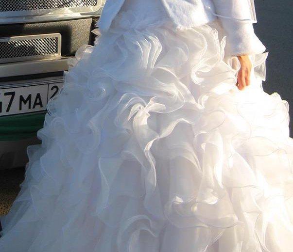 Пышное свадебное платье. Фото 2. Красноярск.