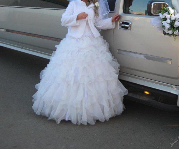 Пышное свадебное платье. Фото 3. Красноярск.