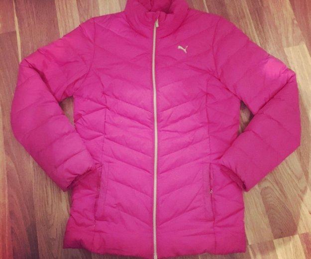 Куртка пума зима. Фото 1.