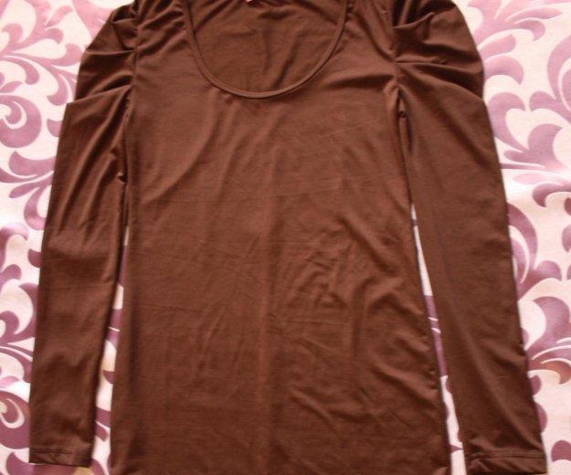 Кофта шоколадного цвета. Фото 1. Геленджик.