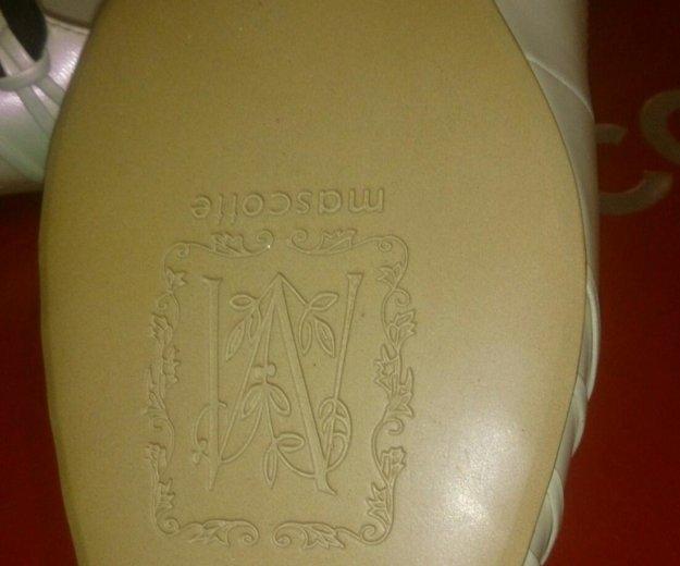 Туфли mascotte из натуральной кожи. Фото 2. Нижний Новгород.
