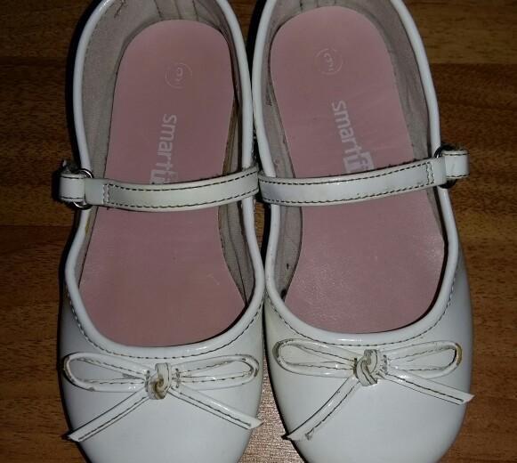 Туфли белые 16 см. Фото 1. Санкт-Петербург.