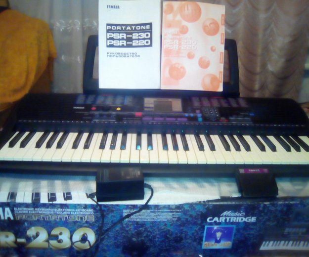 Синтезатор  ямаха - psr 230. Фото 2. Екатеринбург.