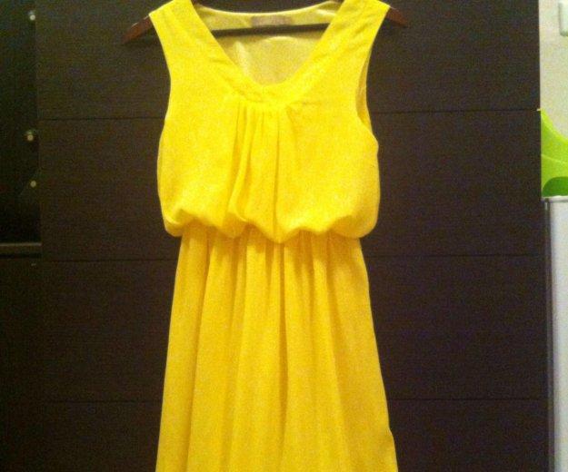 Платье шифоновое, с хорошим подкладом. Фото 1. Омск.