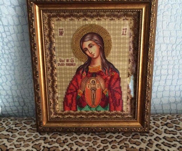 """Икона """"помощница в родах"""". Фото 1. Омск."""