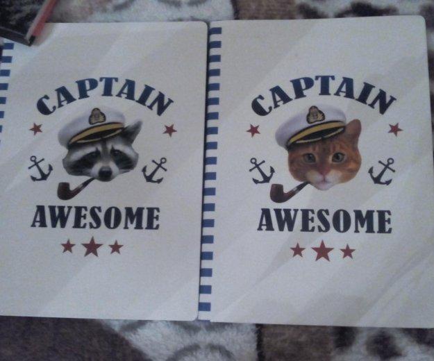 "Блокноты ""кот моряк"" и ""енот моряк"". Фото 1. Ульяновск."