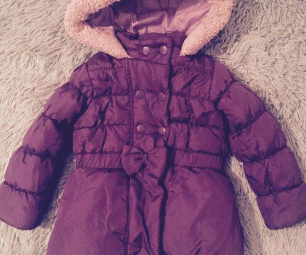 Курточка тёплая размер 92. Фото 1. Москва.