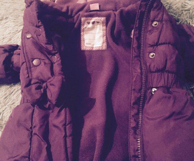 Курточка тёплая размер 92. Фото 2. Москва.