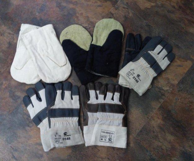 Проф верхонки и перчатки. Фото 1. Маркова.