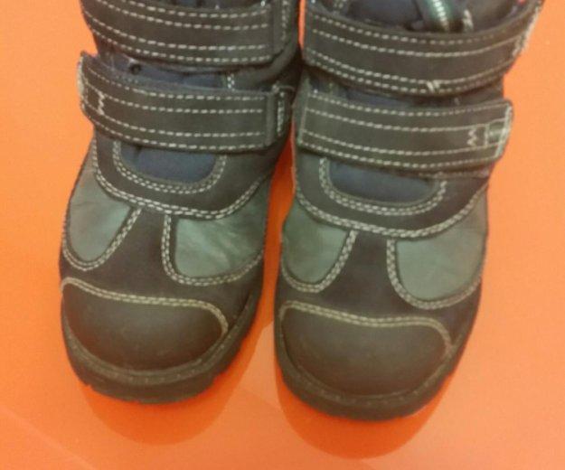 Зимние ботинки на мальчика. Фото 2. Котельники.