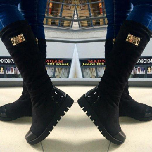 Новые зимние сапоги на тракторной подошве★★★★★. Фото 1. Челябинск.