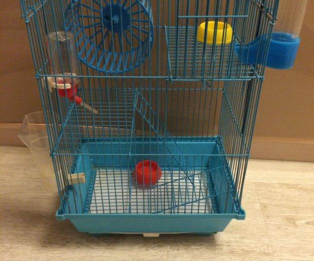 Клетка для грызунов. Фото 1.
