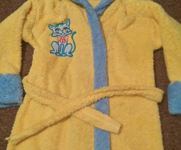 Махровый халат. Фото 1.