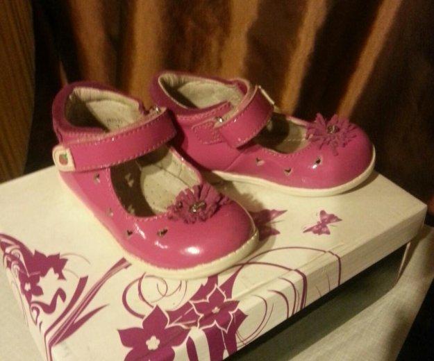 Туфли лакированные для девочки. Фото 1.