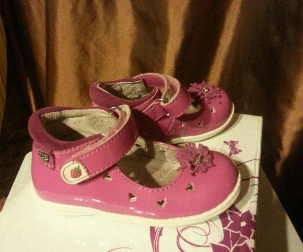 Туфли лакированные для девочки. Фото 2.
