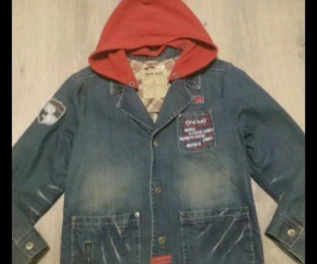 Модный пиджачек 122 см. Фото 1. Москва.