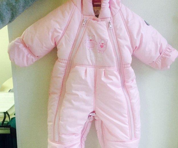 Зимний комбинезон для девочки. Фото 1.