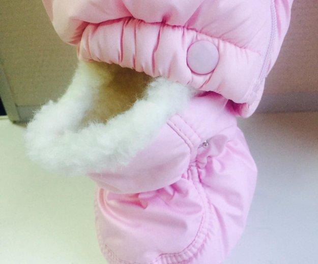 Зимний комбинезон для девочки. Фото 2.