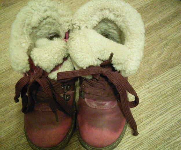 Ботинки на девочку. Фото 1. Липецк.