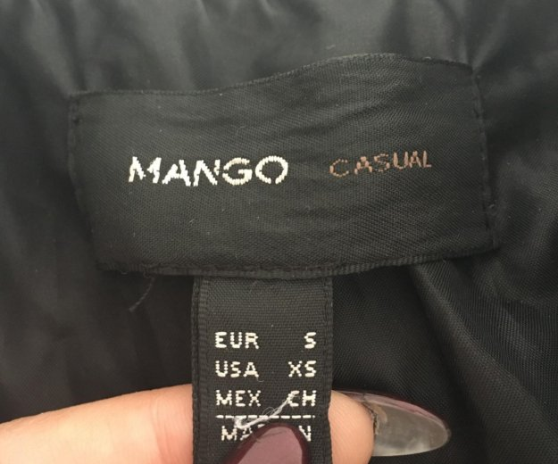 Куртка осенняя mango. Фото 2. Челябинск.