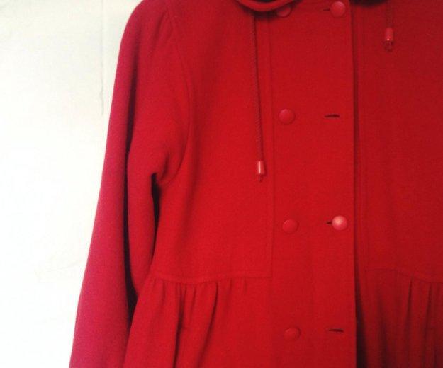 Винтажное очень милое пальто с капюшоном. Фото 2. Екатеринбург.