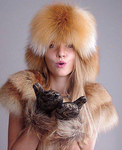 Лисья шапка-малахай. Фото 1.