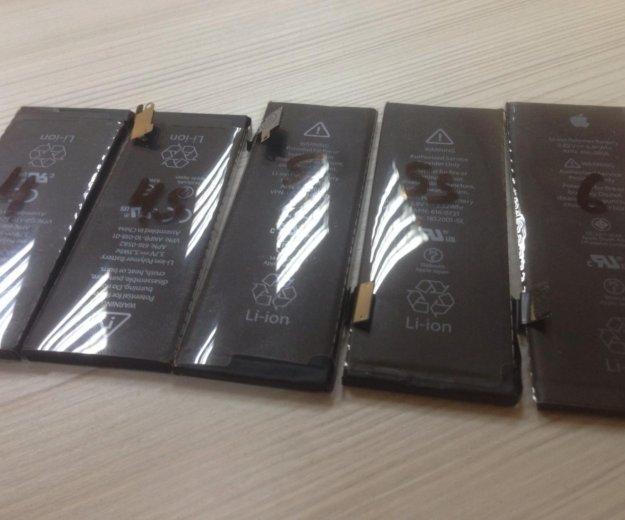 Аккумулятор  iphone 4 4s 5 5s 6 6+ 6s. Фото 1. Сергиев Посад.